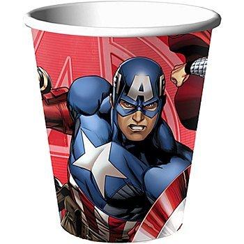 Avengers Assemble NEW Birthday Party 9oz Paper Cups (8 per pkg)