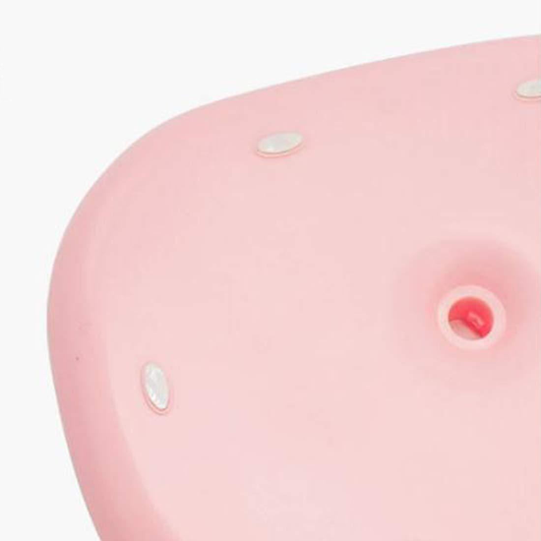 Mkulxina USB, das LED auflädt, auflädt, auflädt, belichtete kosmetisches Spiegel Countertop Leselicht-kosmetisches Spiegel-Licht (Farbe   Bear lila, Größe   Round) B07L8GKX4G   Quality First  42a212