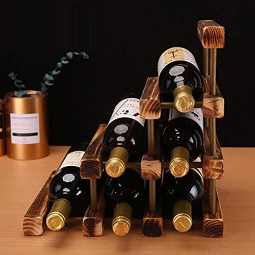 Compare Price Triangle Wine Bottle Rack On