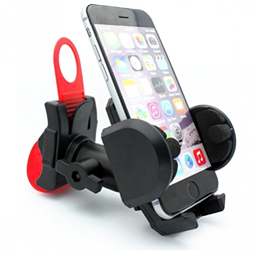 Rotating Bicycle Mount Phone Holder Cradle with Strap Part f