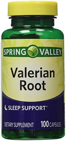 Spring Valley – Valerian Root Extract, 100 Capsules