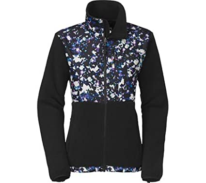 95a652a1c The North Face Women Denali Jacket, Recycled TNF Black/TNF Black Floral  Crystal Print, X-Small