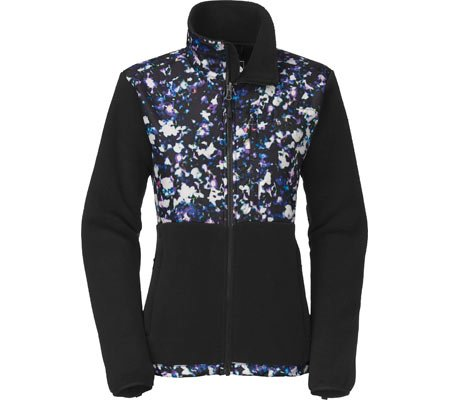 e69d9fe7d The North Face Women Denali Jacket, Recycled TNF Black/TNF Black Floral  Crystal Print, X-Small