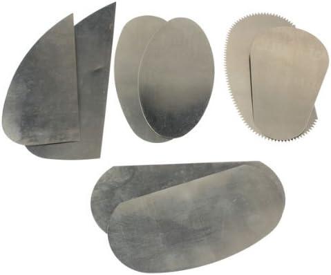 10Pcs en acier inoxydable burin pour Argile Sculpture ceramique Outils dArtisanat R TOOGOO