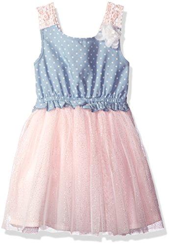 Little Lass Baby Girls 1 Pc Crochet Strap Dress