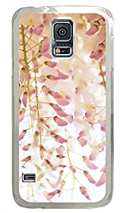 Wisteria Clear Hard Case Cover Skin For Samsung Galaxy S5 I9600