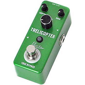 Rowin Trelicopter Effects Guitar Tremolo Pedal
