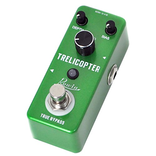 Rowin Trelicopter Effects Guitar Tremolo Pedal by Rowin