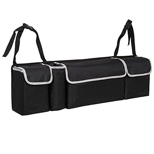 Car Trunk Storage Organizer, Multi-Use Oxford Cloth Auto Storage Box With Straps, Best For Suv, Car, Truck, Van, Home - AUTOFAN, -