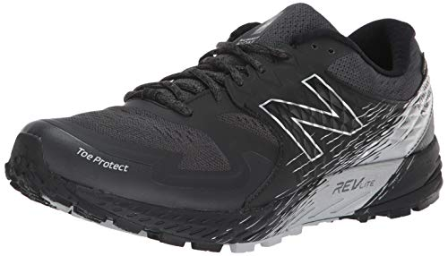 New Balance Men's SKOM-Summit King of Mountain V1 Trail Running Shoe, Black/Grey, 12 2E US