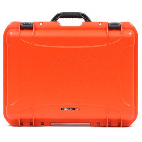 Nanuk 940 Waterproof Hard Case with Padded Dividers - Orange