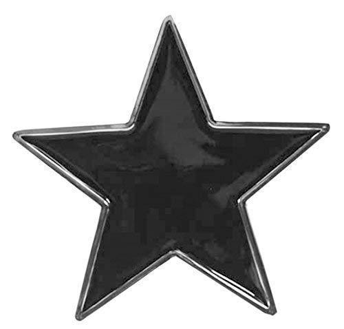 Piratenladen Buckle con Negro Tatuaje Estrella, Hebilla: Amazon.es ...