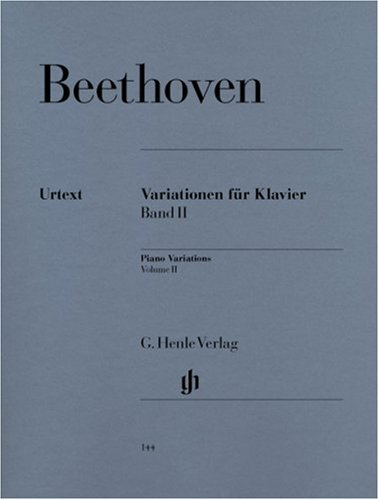 Beethoven: Variations for Piano, Vol. 2 (Volume 2 Lucky Star)