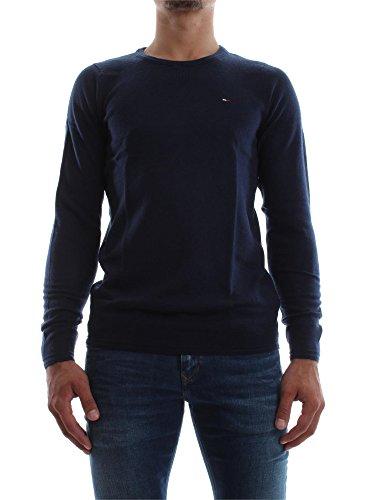 pull hiver Hilfiger Denim basic cn sweater 8 noir