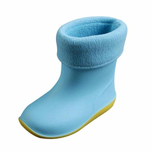 Waterproof Child Rubber Rainy Boots, Weiyun Unisex Baby Kids