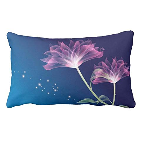 (AoLian CYW Animated Flowers Wallpaper Picture Pillow Case 13 X 21 in)