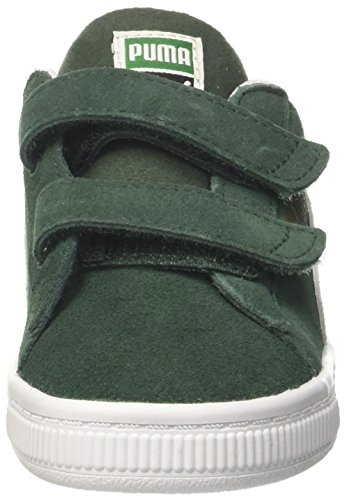 Puma Fille Vert White puma Suede Inf Sneakers V Basses pineneedle Classic rBprqawPSO