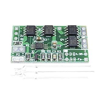 Amazon.com: MAX1879 Batería de litio 18650 Módulo de carga ...