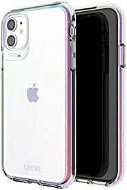 Gear4 Crystal Palace Iridescent Compatible with iPhone 12 Pro, iPhone 12, Advanced Impact Protection with Inte