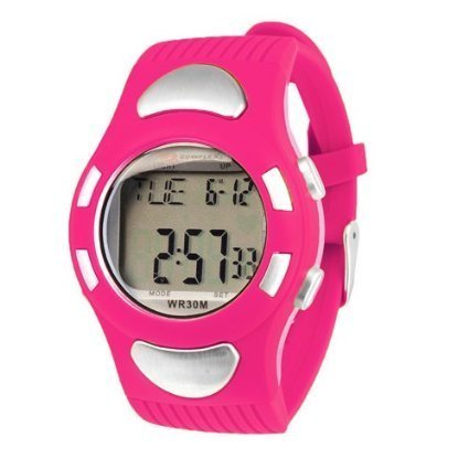 Pro Rate Watch Monitor Heart (Bowflex Strapless Heart Rate Monitor Watch EZ Pro Pink)