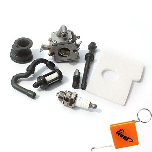 HURI carburateur en luchtfilter voor Stihl 017 018 MS170 MS180 motorzaag met benzine/olie slang filter bougie…