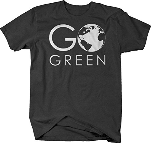 Go Green Earth Save The Planet Recycle Tshirt - ()