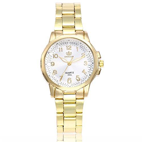 Hessimy Womens Fashion Watches New Ladies Business Bracelet Luxury Watch Casual Geneva Digital Stainless Steel Unisex Sport Birthday Gift Analog Quartz Wrist Watches for Women On Sale