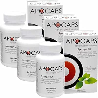 ApoCaps 3PACK CX Apoptagen Formula (90 Capsules) by ApoCaps