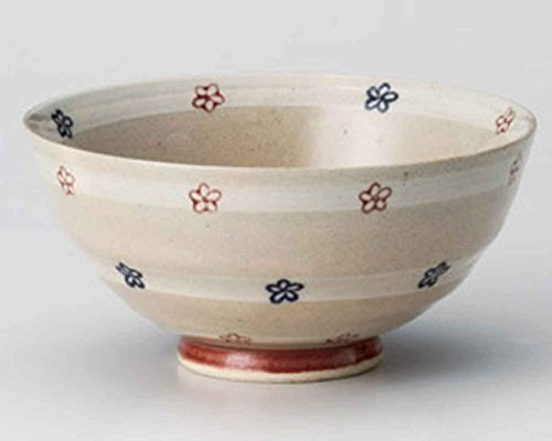 Flower 4.4inch Set of 10 Rice bowls Ceramic Made in Japan by Watou.asia (Image #1)