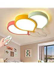 Lampa sufitowa LED, balon, kreatywny akrylowy klosz lampy sufitowe, przyciemniany, pilot zdalnego sterowania, nowoczesny Cartoon pokój dziecięcy, sypialnia, dekoracja, 60 cm