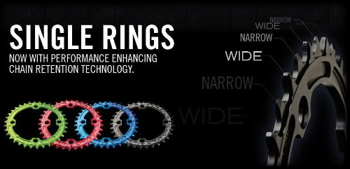 RaceFace 9/10/11-Speed Single Ring, Black, 110mm x 38T by RaceFace (Image #3)