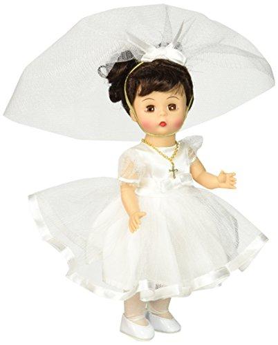 Madame Alexander 71461 My First Communion Brunette Doll 8