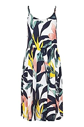 d6f2b6e8388 Yumi Curves Abstract Tropical Dress: Amazon.co.uk: Clothing