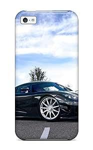 Premium VNGcckh4905QJFeU Case With Scratch-resistant/ Koenigsegg Case Cover For Iphone 5c