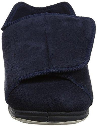 Padders Herren Peter Niedrige Hausschuhe, Mehrfarbig blau (marineblau)