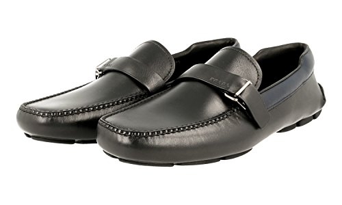 Prada Heren 2dd120 P1q F0g52 Lederen Zakelijke Schoenen