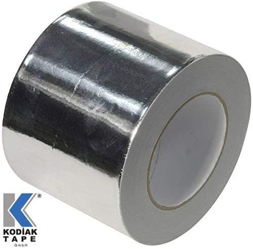 0,199 EUR//m 2 Rollen Aluminiumband Aluminium Aluband Klebeband Aluminiumklebeb/änder selbstklebend Dichtband isolierband 75mm x 30m