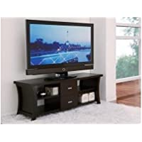 Furniture of America Danbury Modern 2-Drawer Cappaccino TV Console