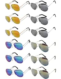 Wholesale Sunglasses Mirrored Blue Green Owl Key Pieces