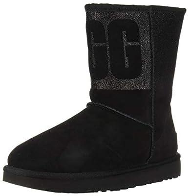 UGG Women's W Classic Short Sparkle Fashion Boot