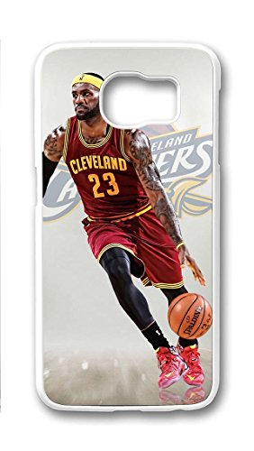S6 Case, Galaxy S6 Cases, Fashion Style Lebron James Samsung Galaxy S6 Case Hard PC White Shock-Absorption Bumper Case for Samsung Galaxy S6 (Lebron James Style)
