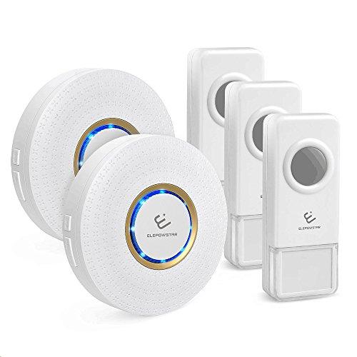 Waterproof Wireless Smart Doorbell with 2 Receivers - 3