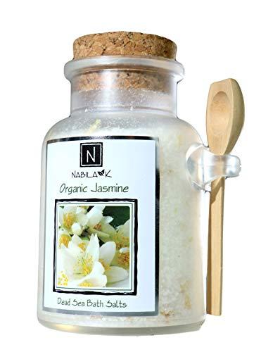 Jasmine Bath Salt - Organic Jasmine Bath Salt, 10.5oz