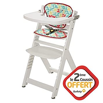 Haute Chaise Safety 1st Totem2 Playtime Coussins CrdoWBxe