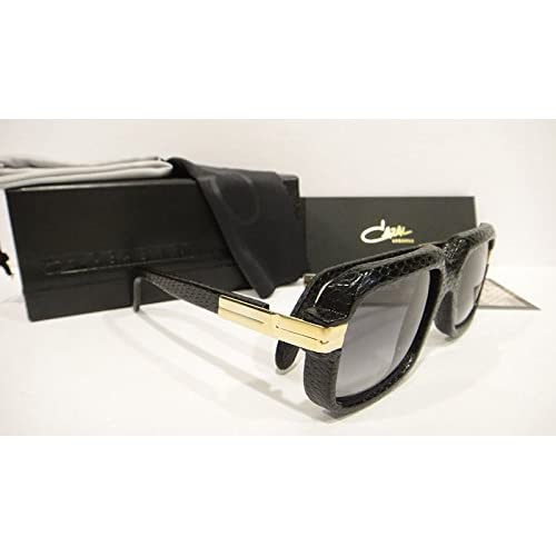 d9c2297ad059 Cazal 607 3 Sunglasses 607 Leather Legend Black (601) Authentic New lovely