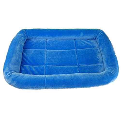 Pet Dog Nest Cushions Cat Bed Kennel Crystal Velvet Pet M...