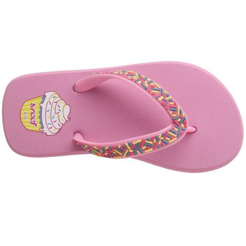 Reef Little Cupcake - Chanclas para niña Rosa - Strawberry