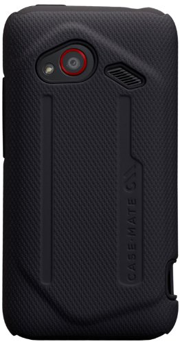 ase-Mate Tough Case for HTC Droid Incredible 4G LTE - 1 Pack - Retail Packaging - Black ()