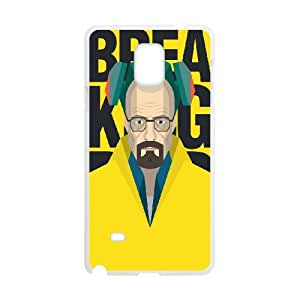 Breaking Bad Samsung Galaxy Note 4 Cell Phone Case White MUS9188875