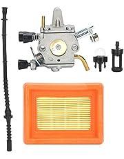 Grasmaaier Accessoire, Carburateur Luchtfilter Brandstofleiding Set Vervanging voor STIHL FS400 FS450 FS480 Grasmaaier